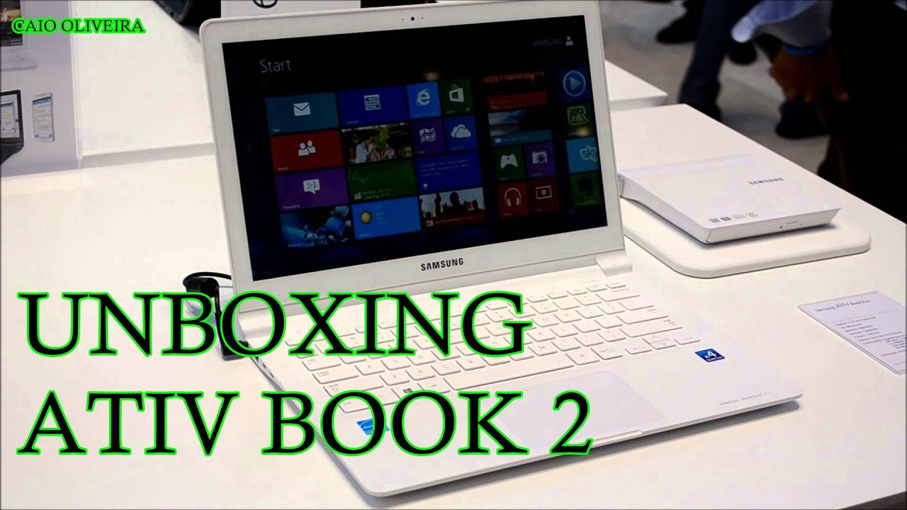 Notebook samsung ativ book 2 branco