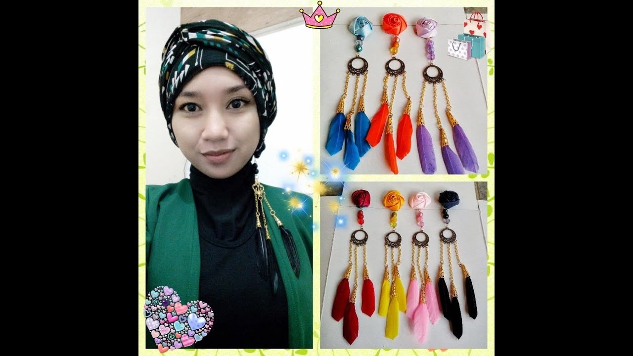 Part IV Tutorial Jilbab Pasmina Turban Etnik Anti YouTube