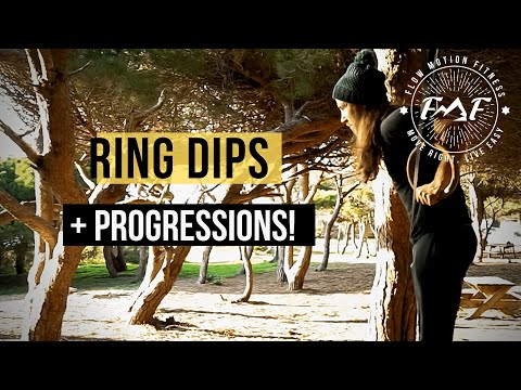Ring Dips And Progressions | Bodyweight Training