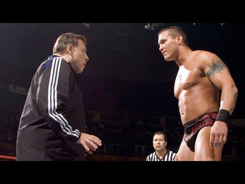 Today in WWE - Randy Orton vs. John Cena Sr.: Raw, Sept. 17, 2007