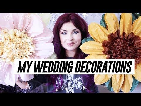 MY WEDDING DECORATIONS