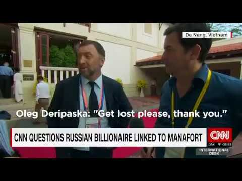 Russian billionaire Oleg Deripaska Interview at APEC with CNN ends brilliantly