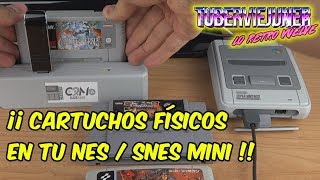 🕹️ USA TUS CARTUCHOS ORIGINALES EN NES / SNES mini con Classic2magic / classic 2 magic análisis