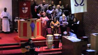 """Follow the Drinking Gourd"" Wayne Baldwin, Guitar St Thomas Episcopal Choir"