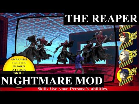 Persona 4 GOLDEN - Reaper Fight Nightmare Mod  