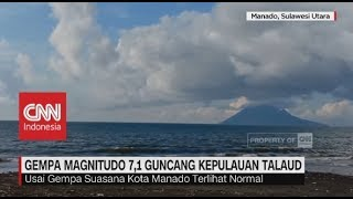 Download Video Gempa Magnitudo 7,1 Guncang Kepulauan Talaud, Sulawesi Utara MP3 3GP MP4