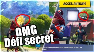 Secret challenge of the sixth week of season 4! Fortnite (Free Landing)
