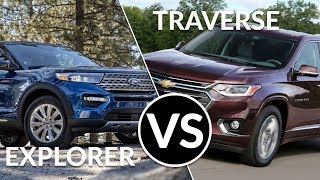 2019 Chevy Traverse Vs 2020 Ford Explorer First look comparison