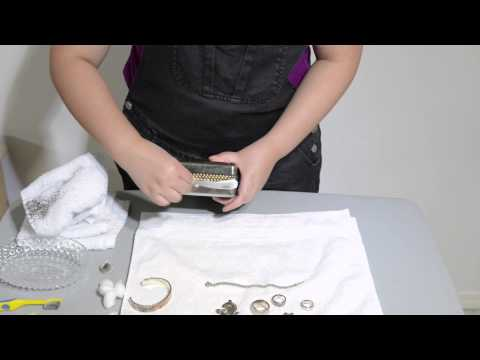 Removing Tarnish from Silver Jewelry with Toothpaste