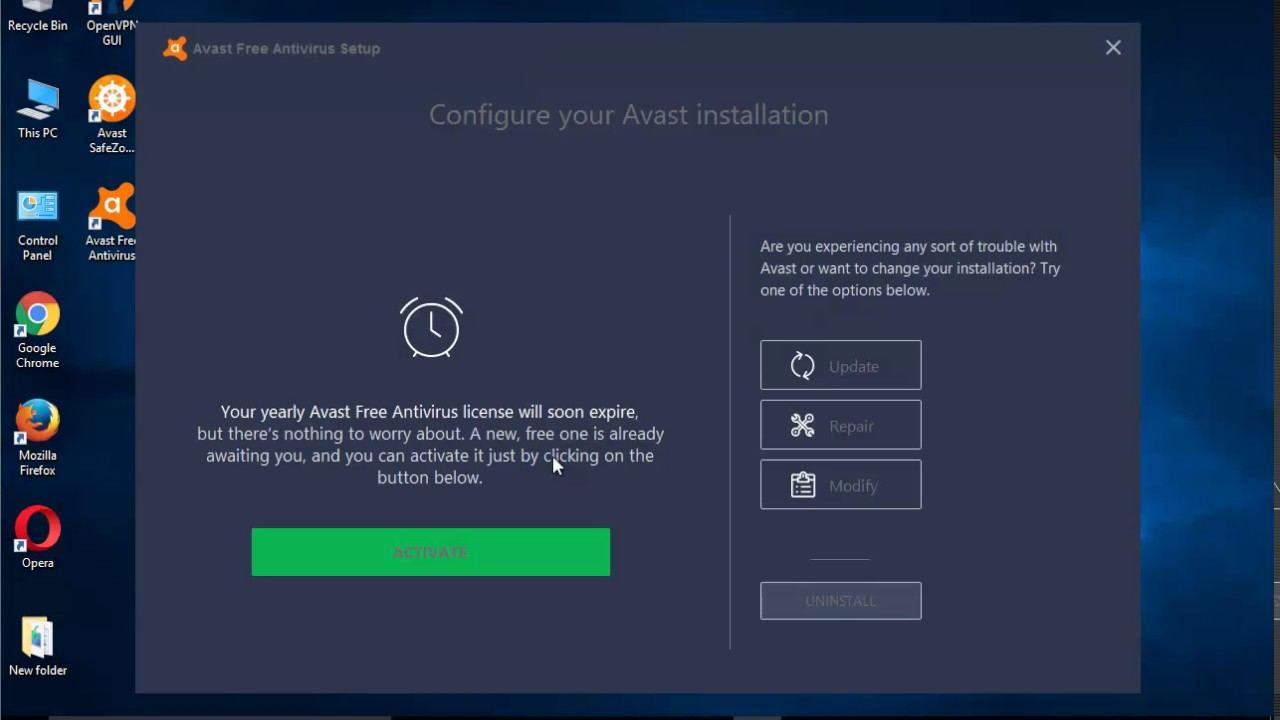 Avast Free Antivirus: how to remove from the computer completely