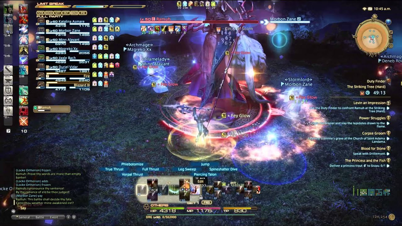 FFXIV: The Striking Tree - Ramuh Fight Guide | Final Fantasy XIV