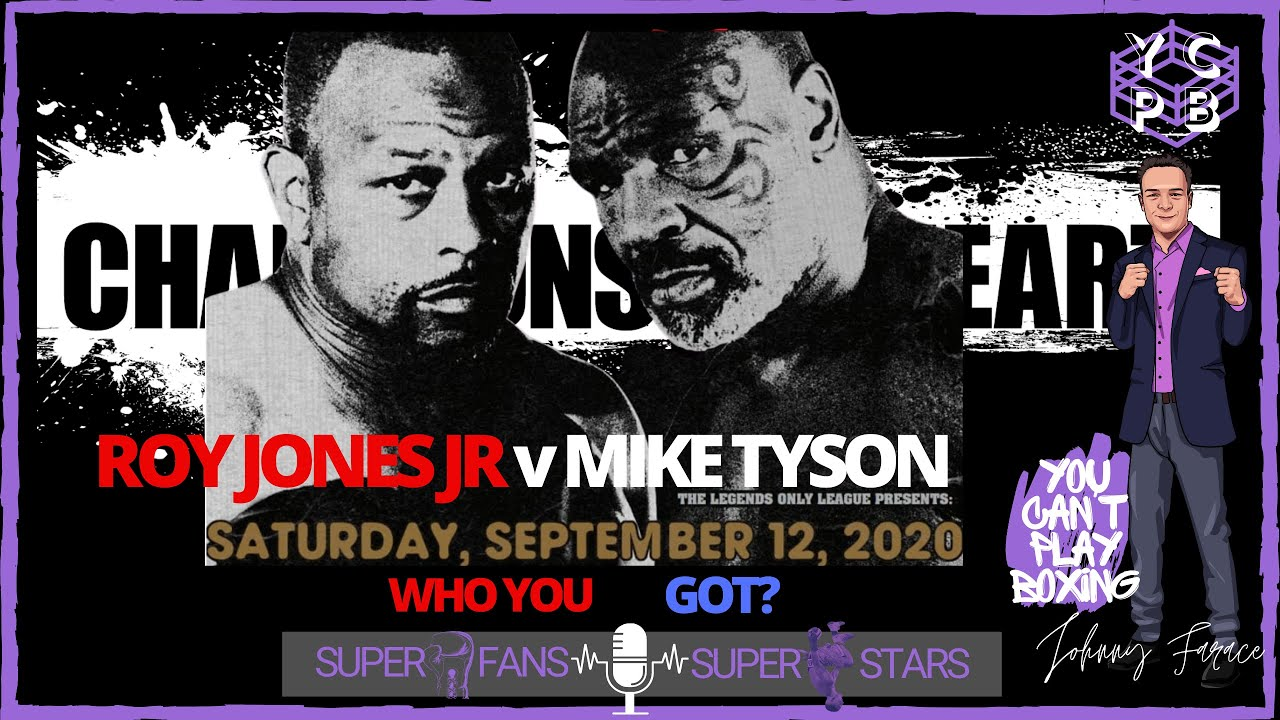 The Best Mike Tyson Vs Roy Jones Jr Official Poster