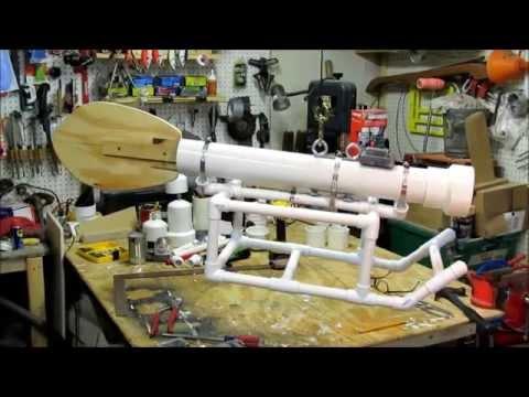 DIY Downrigger camera platform