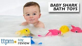 Robo Alive Junior Pinkfong Baby Shark Sing & Swim Bath Toy from Zuru