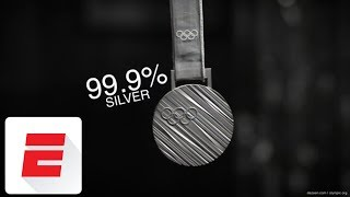 What are those Olympic medals made of? | ESPN