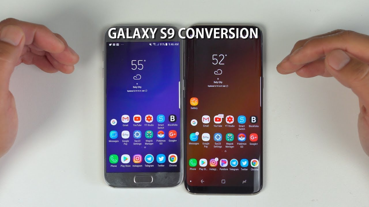 Galaxy S9 Oreo Conversion for Galaxy S7/S7Edge or S8 S8 Plus