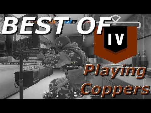 Best Of Road To Copper! Chaotic Compilation Part 1 - Rainbow Six Siege Funny Moments