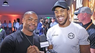 ANTHONY JOSHUA on ISLAMIC INFLUENCE After 2X CHAMPIONSHIP vs Andy Ruiz 2