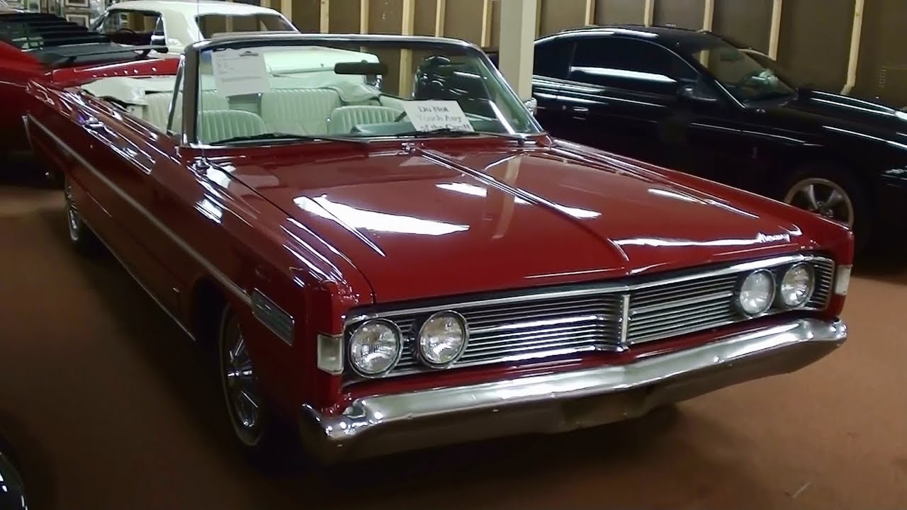 1966 Mercury S 55 Convertible 428 Super Marauder V8 Rare Youtube