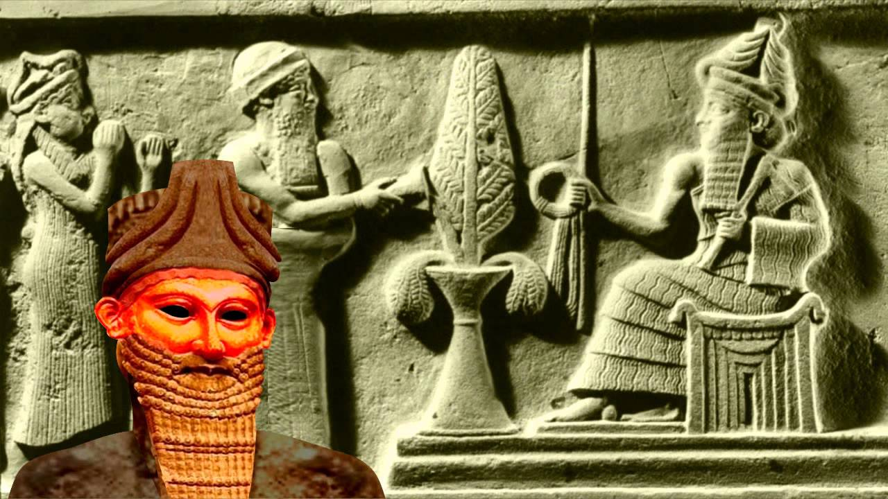 Anunnaki, the Sumerian version of humanity's creation