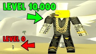 ROBLOX GOD SIMULATOR *LEVEL 0 BIS 10.000 IN 1 SEKUNDE*