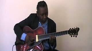 """This Nearly Was Mine"", Ron Jackson Solo Eastman 7 String Jazz Guitar"