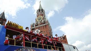 Russia won the gold medal at the World Championship 2014 in Minsk.