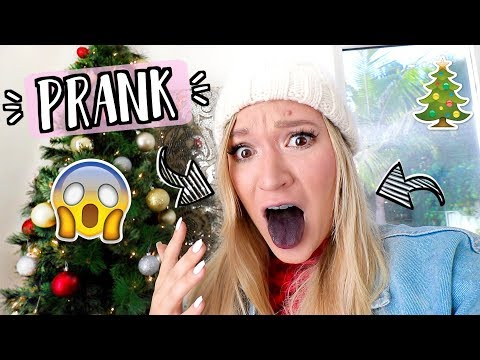 Download Youtube: Christmas PRANK Gone Wrong!! AlishaMarieVlogs