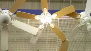 Ceiling fans at Lowes (2018) new finish of the Harbor Breeze Armitage