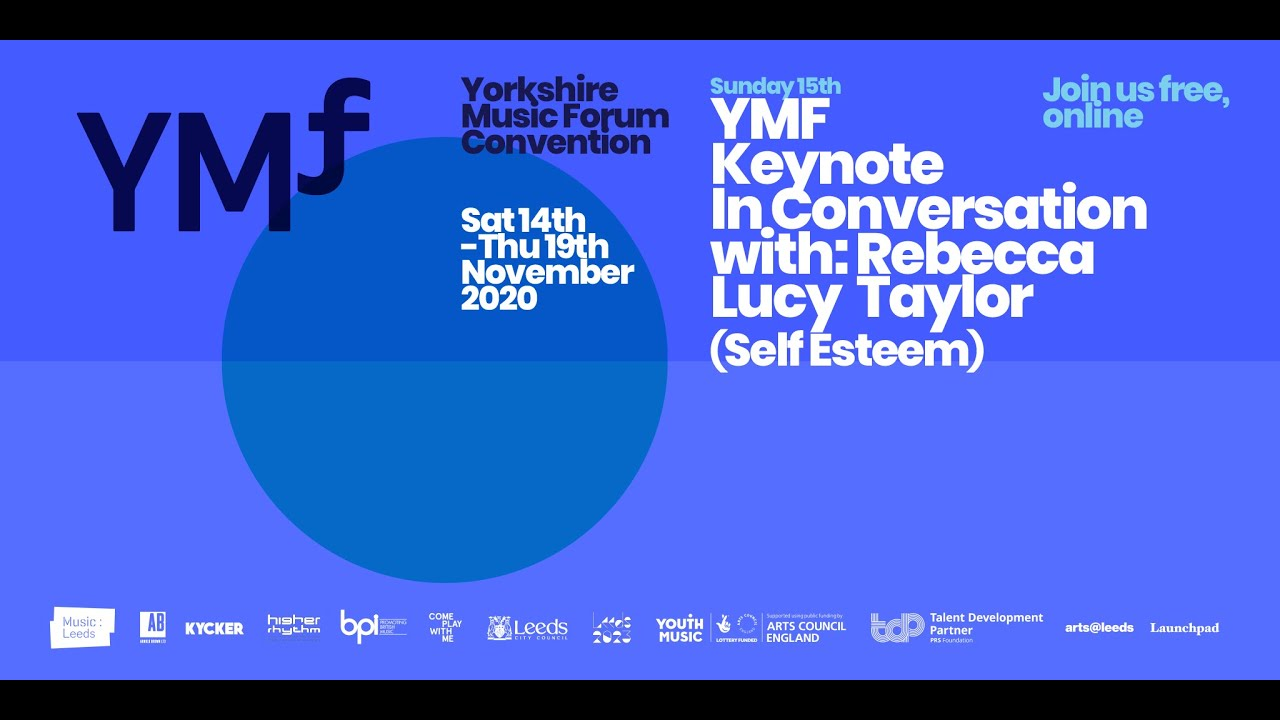 Ymf Convention 2020 Keynote With Rebecca Lucy Taylor Self Esteem Youtube