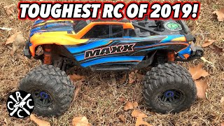 Most Durable RC of 2019: The Traxxas Maxx - Let's Bash It Hard!