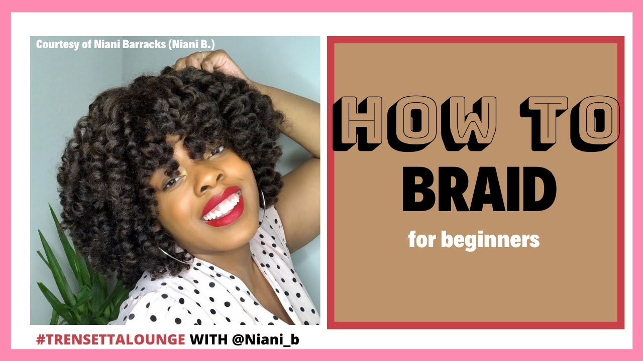How to braid your own hair for beginners while quarantine