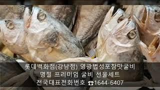 롯데백화점 강남점 영광법성포참맛굴비 명절프리미엄굴비선물…