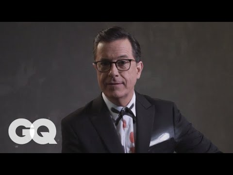 Stephen Colbert Gets Interrogated by the Russians  GQ