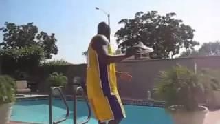 Shaq Jumps Over A Pool