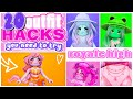 FROGGY HAT 🐸 20 OUTFIT HACKS YOU NEED TO TRY! Royale High Community Creations