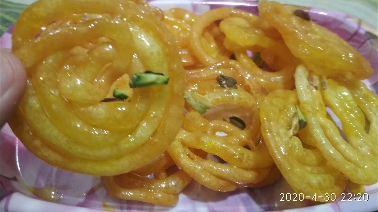 Lockdown me 10 mint me Ramzan special jalebi zaroor banaye recipe by Nasreen's Kitchen