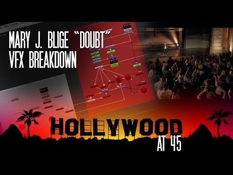 Hollywood@45 - Mary J. Blige VFX Breakdown
