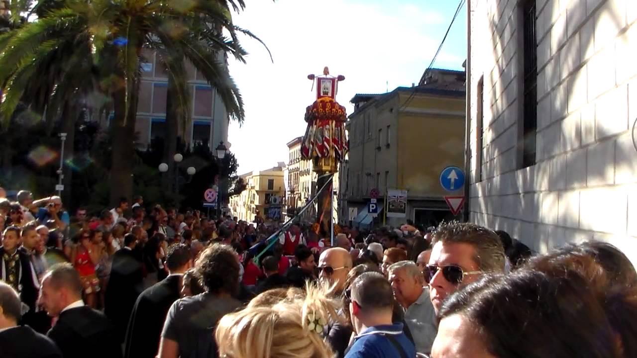 candelieri sassari 14.08 .2014 - YouTube