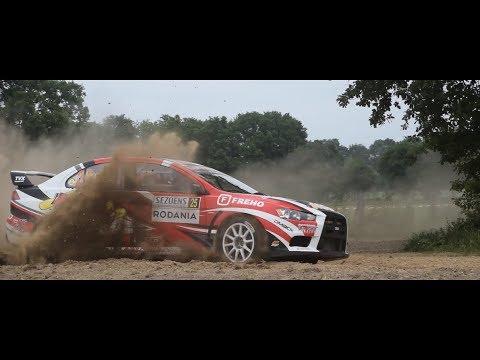 Sezoensrally 2018   Steve Bécaert - Nico Beernaert   Mitsubishi Lancer EVO X