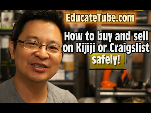 how to buy and sell on kijiji or craigslist safely the smart way youtube. Black Bedroom Furniture Sets. Home Design Ideas