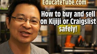 Video How to buy and sell on Kijiji or Craigslist Safely, the Smart Way download MP3, 3GP, MP4, WEBM, AVI, FLV Agustus 2018