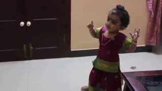 Baby Dancing to Escape From Uganda Song-oh sundari ninne kandu njan....