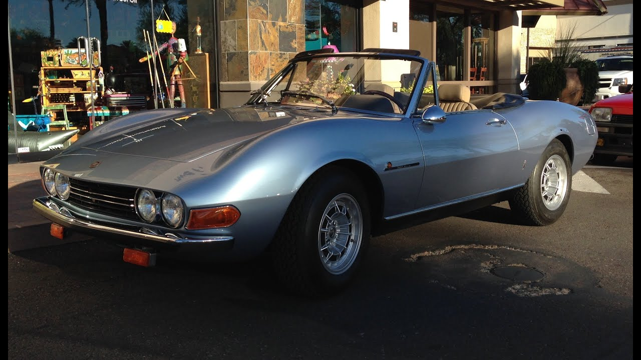 Classic Fiat Dino 2400 Spider at Cars and Coffee