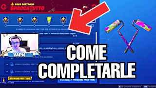 SFIDE SPACCATUTTO PASS BATTLE SEASON 10 - GUIDE TO HOW COMPLETARLE (FORTNITE)