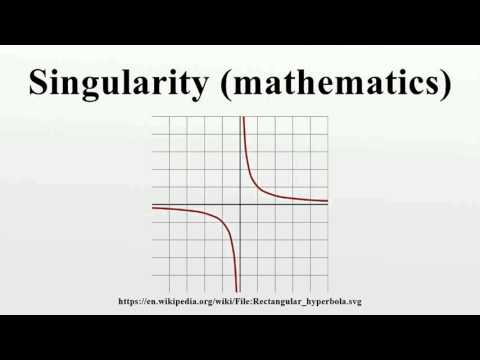 Singularity (mathematics)