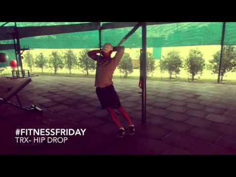 #FitnessFriday- TRX Hip Drop