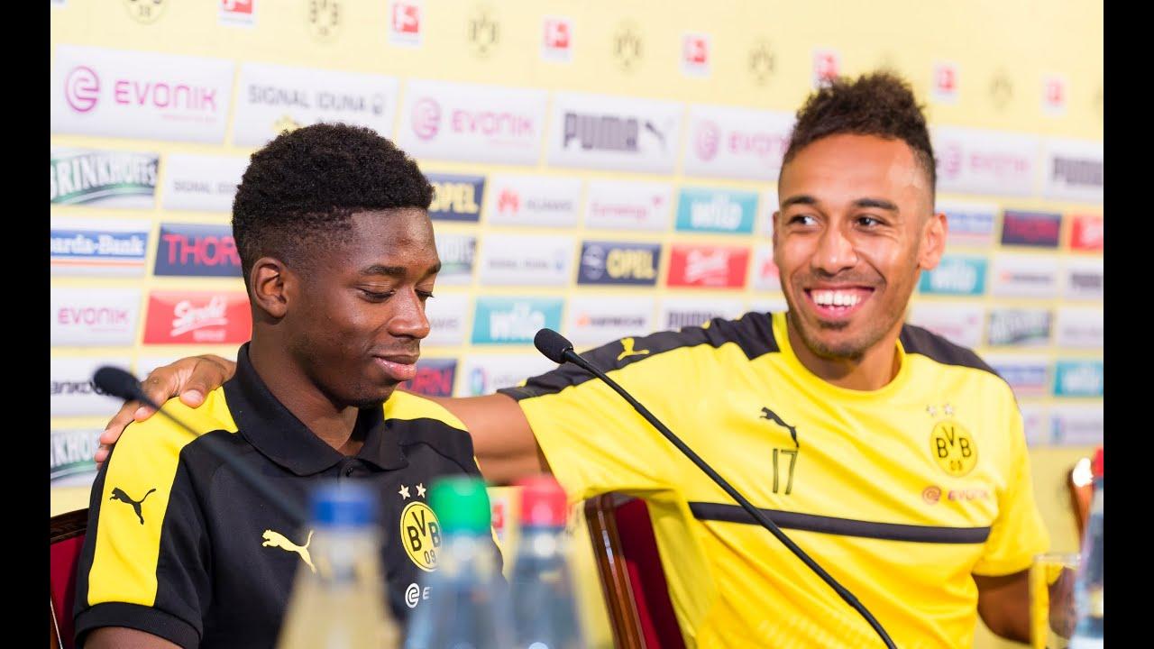 Pressekonferenz: Pierre-Emerick Aubameyang & Ousmane Dembélé | Bad Ragaz 2016