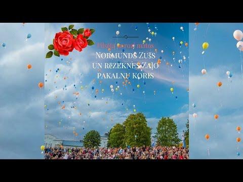 Normunds Zušs un Rēzeknes Zaļo pakalnu koris - Pilsēta ar rozi matos (Veltījums Rēzeknei)