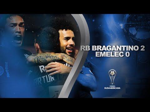 Bragantino Emelec Goals And Highlights